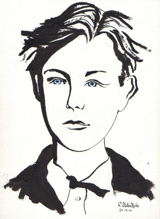 Arthur Rimbaud por CornelieStatiusM